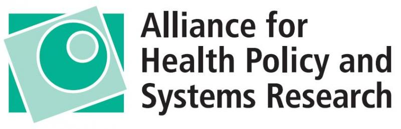 Alliance for Health Policy and Systems Research logo